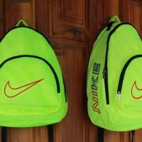 Tas Ransel Nike Sport stabilo  (sekolah,sport,olahraga,bag,travel