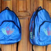 Tas Ransel Adidas Sport Biru  (sekolah,sport,olahraga,bag,travel