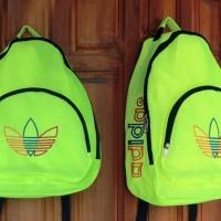 Tas Ransel Adidas Sport stabilo  (sekolah,sport,olahraga,bag,travel