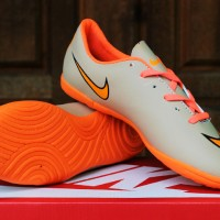 Nike Mercurial Superfly Cream Orange(sepatu futsal anak,soccer,sport)