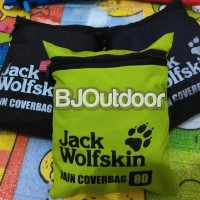 Obral Rain Cover Bag 80 liter, Merk Jack wolfskin The North Face
