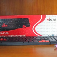 Keyboard PS2 Votre Gratis Mouse USB