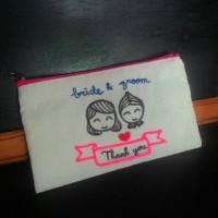souvenir pouch / dompet blacu