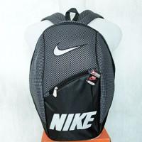 Tas Ransel Nike Abu Hitam (kuliah,sekolah,olahraga,sport,Ransel,bag)