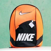 Tas Ransel Nike Orange Hitam(kuliah,sekolah,olahraga,sport,Ranse