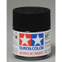 tamiya acrylic XF-1 Flat Black ( cat gundam model kit)