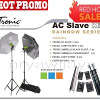 [HARGA PROMO] Paket Studio Mini Tronic AC Slave Kit + Tas
