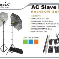 Studio Mini Tronic AC Slave Kit - Rainbow Series New