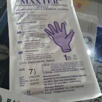 Sarung Tangan Steril Maxter 7,5