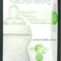 Chicco Bottle Natural Feeling 4m+ / Botol Susu