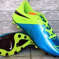 Jual Sepatu Sepak Bola Nike Hypervenom ACC Biru Hijau Murah (lokal)