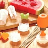 Pop Chef Magic Mold - Alat Cetak Makanan Buah dan Roti