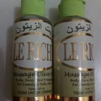 Minyak Zaitun Le Riche 60 Ml Untuk Kulit Bayi Dan Keluarga