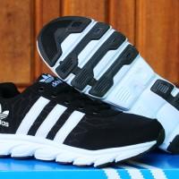 Adidas Climacool Women Hitam Putih(sepatu running,wanita,kets,sport)