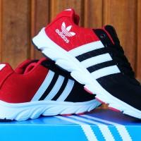 Adidas Climacool Women Hitam Merah(sepatu kets,running,wanita,sport)