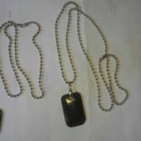 1bh kalung biji lada + liontin batu natural black jade asal aceh