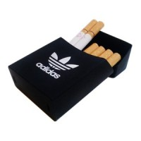 Cover Kotak Rokok Silicone Motif Adidas - Black