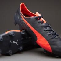 Sepatu Bola Puma Evospeed SL FG Navy Grade Ori