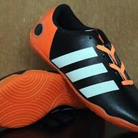 Sepatu Futsal Adidas 11 Pro Hitam Orange Anak (Asli, Murah)
