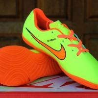 Sepatu Futsal Nike Tiempo SB 10 Kuning Orange Anak(Asli,Adidas,Murah)