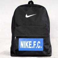 Tas Gendong Nike FC hitam 4 (kuliah,sekolah,olahraga,sport,Ransel,bag)