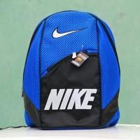 Tas Gendong Nike biru (kuliah,sekolah,olahraga,sport,Ransel,bag)