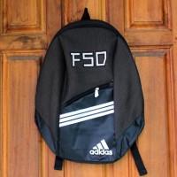 Tas Gendong Adidas abu tua (kuliah,sekolah,olahraga,sport,Ransel,bag)