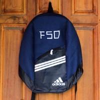 Tas Gendong Adidas navy (kuliah,sekolah,olahraga,sport,Ransel,bag)