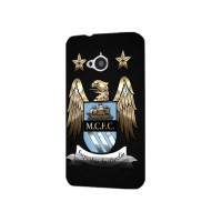 Manchester City Logo Black Case for HTC One M7