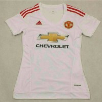 Jersey Ladies MU Manchester United Away 2015-16 Grade Ori