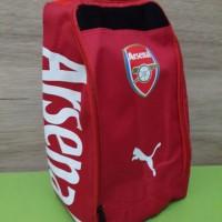 Tas Sepatu Puma Adidas Shoe Bag Merah | Futsal Bola Gym Sport