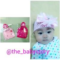 Topi turban bayi perempuan