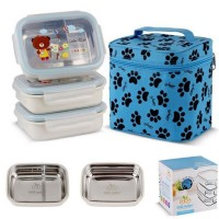 Gig Baby Lunch Box Rectangle Blue