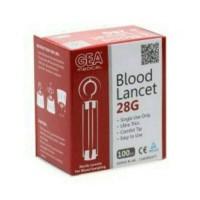 BLOOD LANCET GEA 28G ISI 100