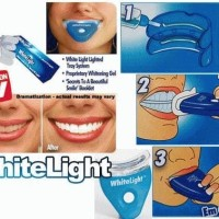 WHITELIGHT TEETH WHITENING / PEMUTIH GIGI