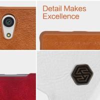 NILLKIN QIN Leather Case SONY E6683 (Xperia Z5) Handphone & Tablet