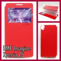 "Flip Soft Case UME ""Imagine"" SONY Xperia Z5 Handphone & Tablet"
