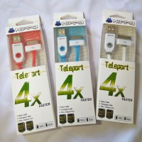 Kabel Data / Charger Hippo Teleport iPhone 4 / 4S 200cm