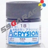 Acrysion N 18 steel  - Model Kit Gundam