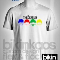 Kaos/tshirt/gildan premium/music/the beatles/custom