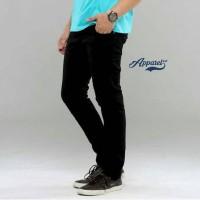 celana panjang jeans hitam skinny/slimfit murah