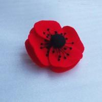 Bros Bunga Flanel Red
