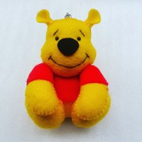 Souvenir Gantungan Winnie the Pooh Flanel
