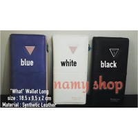 """WHAT"" LONG WALLET - NAMY SHOP"
