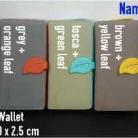 LEAF LONG WALLET - NAMY SHOP