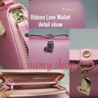 RIBBON LOVE WALLET - NAMY SHOP