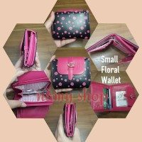 SMALL FLORAL WALLET - NAMY SHOP