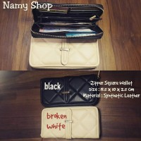 ZIPPER SQUARE WALLET