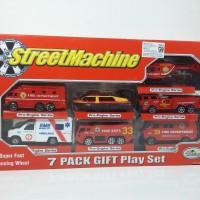 diecast pemadam 7pack gift play set