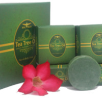 Tea Tree Oil Luxury Australia Herb Soap (Face & Body Soap) b {151016}